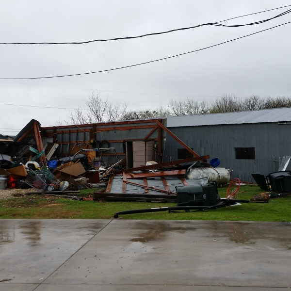 Damage in northeast Kyle, Texas_422457
