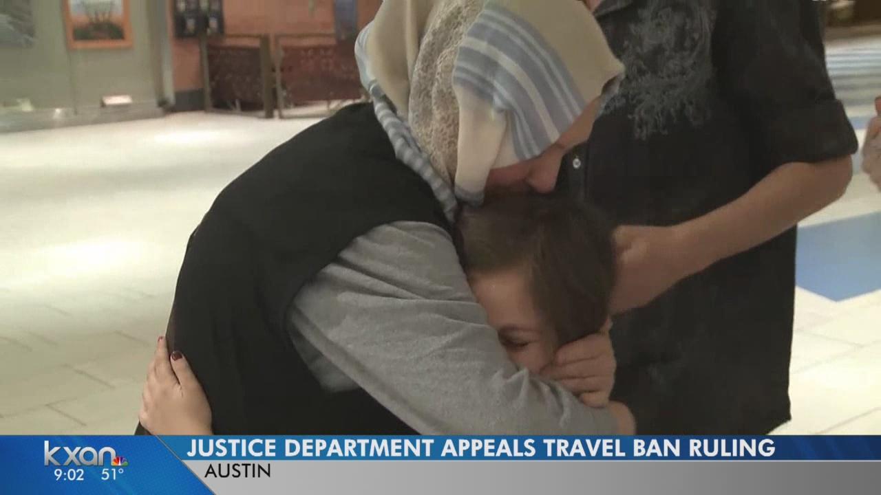 Travel ban ruling appealed