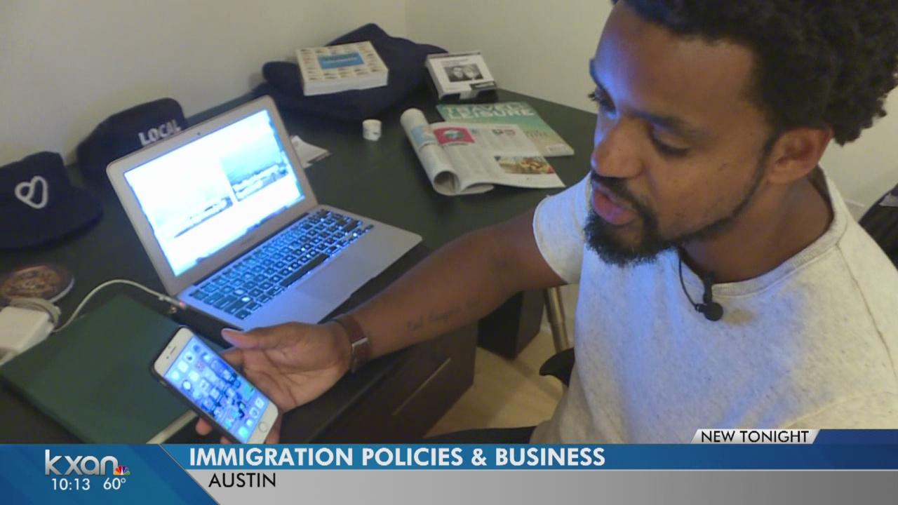 Mayor Adler talks immigration reform with businesses