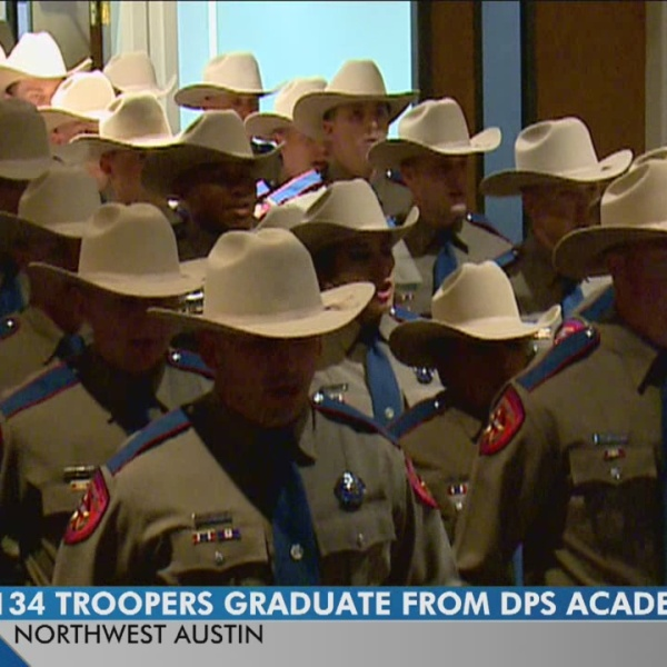 DPS graduates largest trooper class in more than 16 years