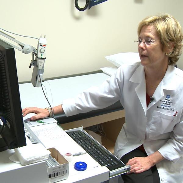 Dr. Sara Austin is a neurologist in Austin._418497