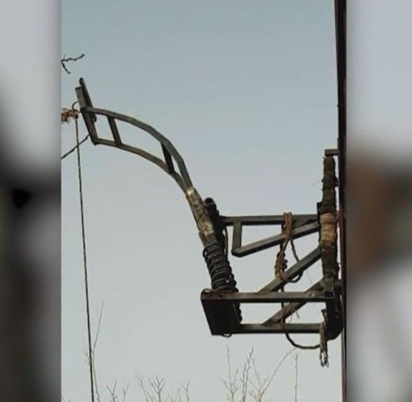 Catapult discovered along Arizona -- Mexico border_420215