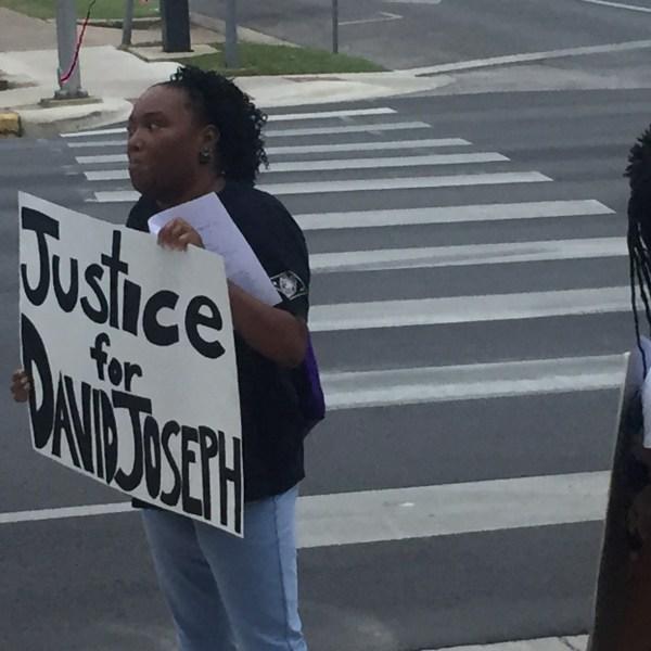 David Joseph protest - Todd Bynum_KXAN_287223