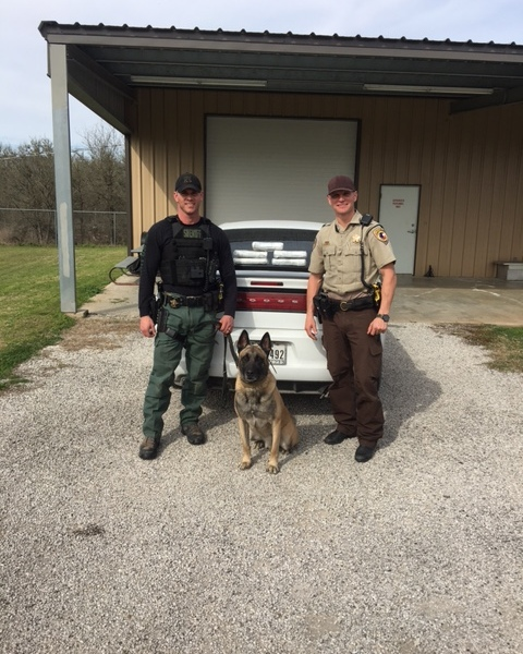 Fayette County deputies and K9 Lobos discover 5 Kilos of cocaine hidden beneath 2 children_415231