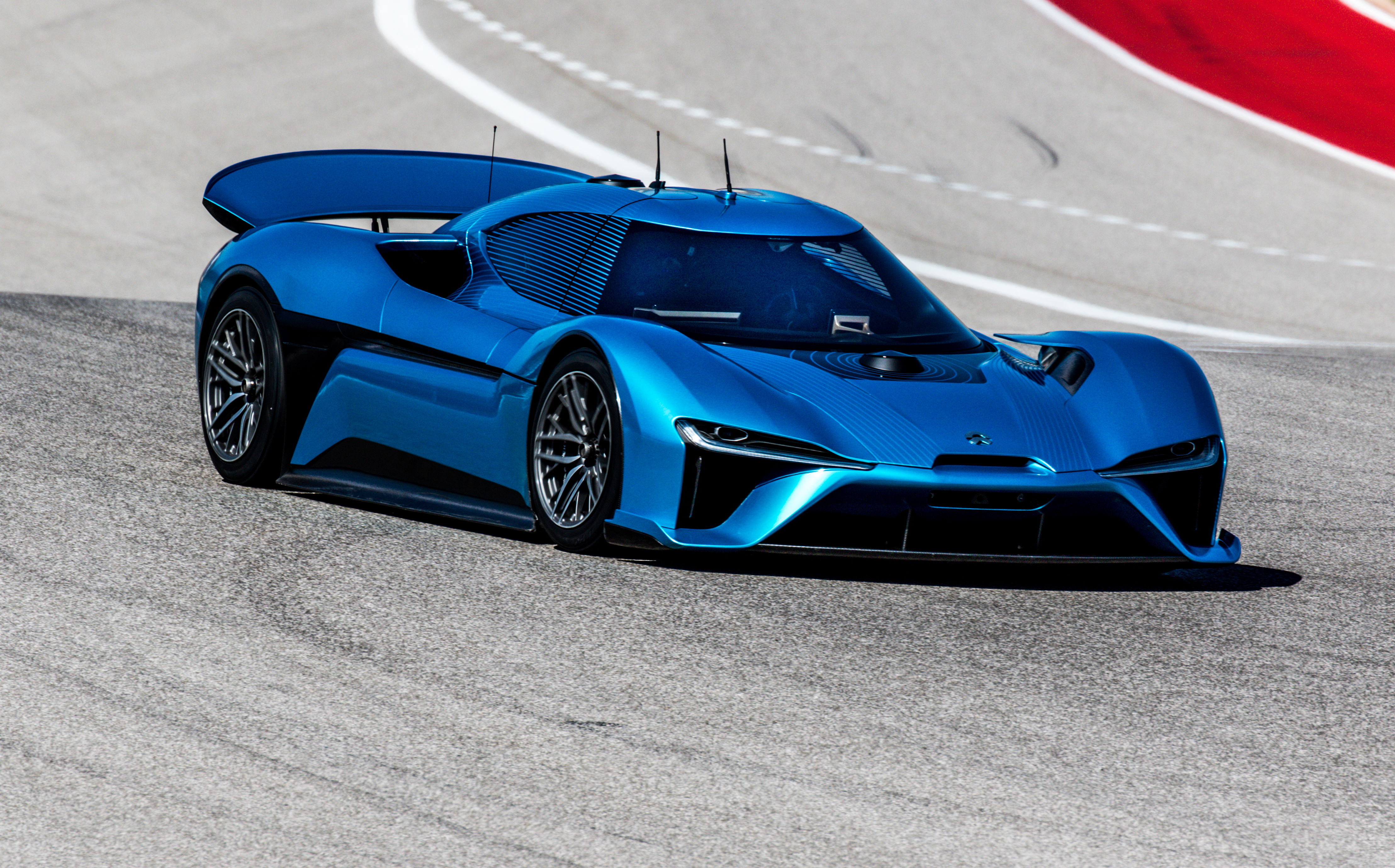 The NIO EP9 supercar set multiple lap records at Circuit of The Americas including fastest driverless lap and fastest production car lap. (COTA)