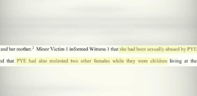 Daniel Pye affidavit excerpt_428711