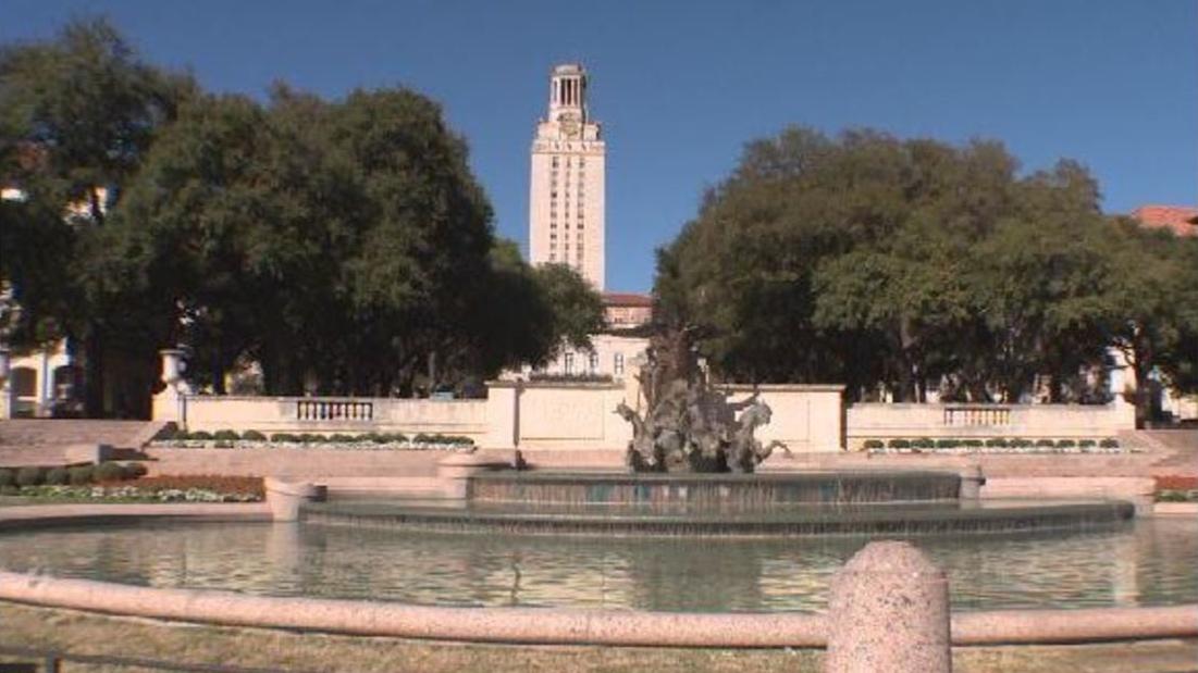 University of Texas at Austin fountain