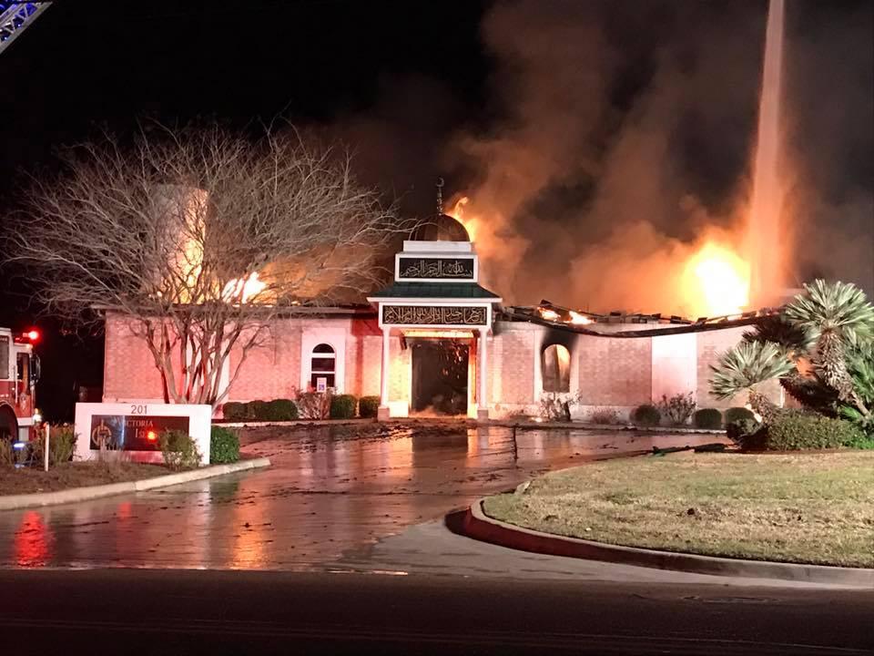 Victoria Mosque Fire_405889
