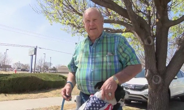 80-year-old man and dog duo stop would-be car thief_434030