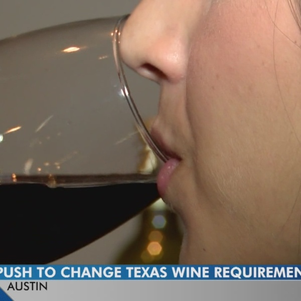 Proposed law would tackle 'Texa-fornia' wine marketed as from Texas
