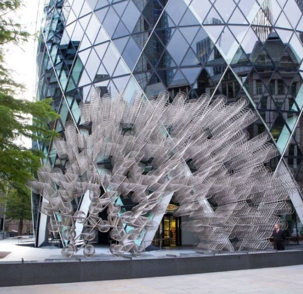 Ai WeiWei Bicycle installation in London_479029
