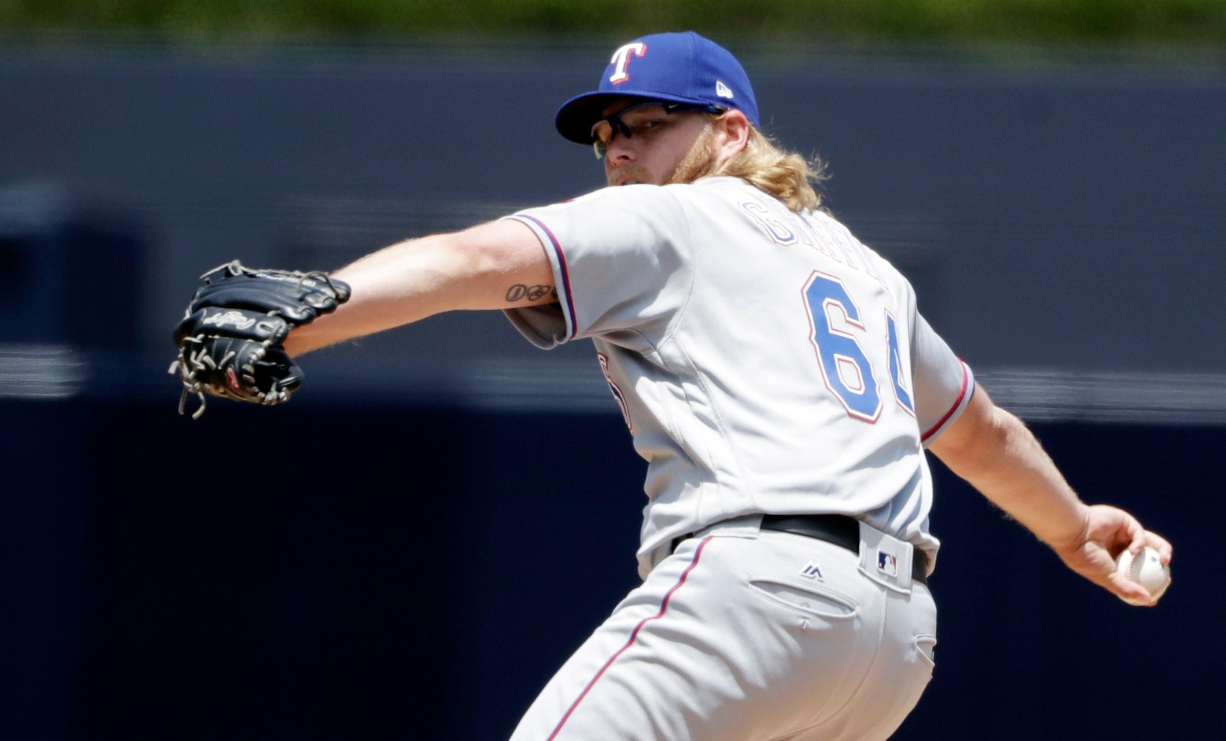 Rangers Padres Baseball_468502