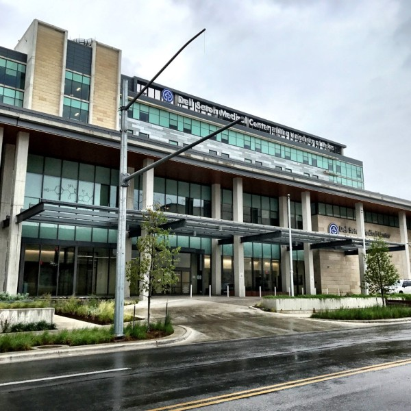 Dell Seton Medical Center at 1500 Red River St. in Austin. (KXAN Photo_Richie Bowes)_468383