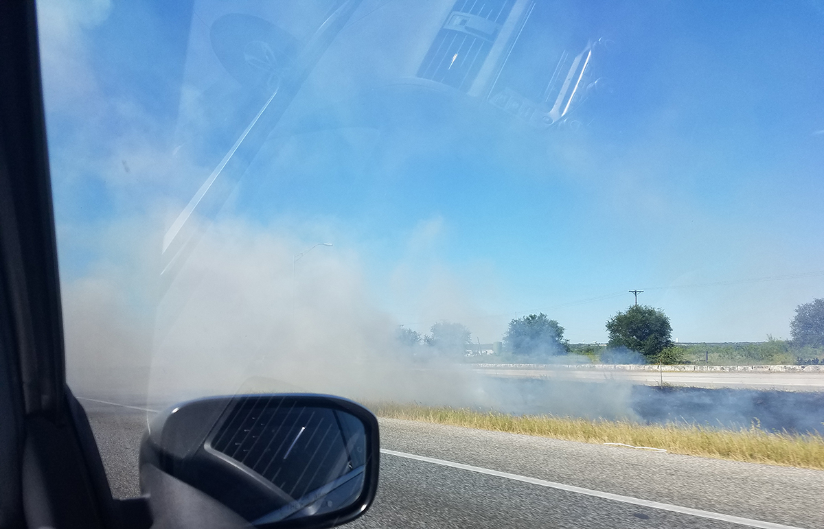 I-35 Georgetown Brush Fire_466207