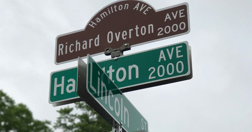 Richard Overton, nation's oldest veteran, got a permanent honor in Austin (KXAN photo_Jorge Rodas)_469510