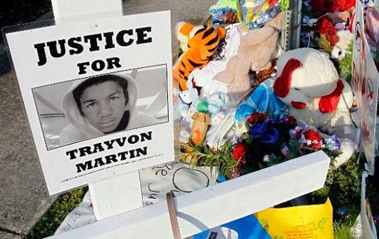 Trayvon Martin memorial (Associated Press photo)_466090