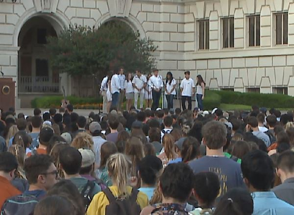 Harrison Brown remembered by countless students at UT Austin on May 3, 2017_465137