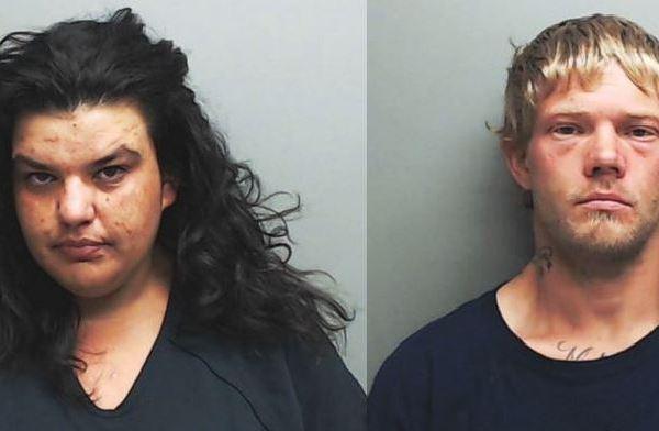 Melissa Moncada and Joshua McGlasson (Hays County Jail booking photos)_487363