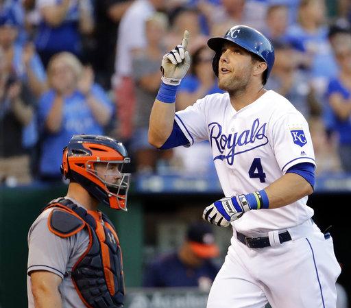 Astros Royals Baseball_484650