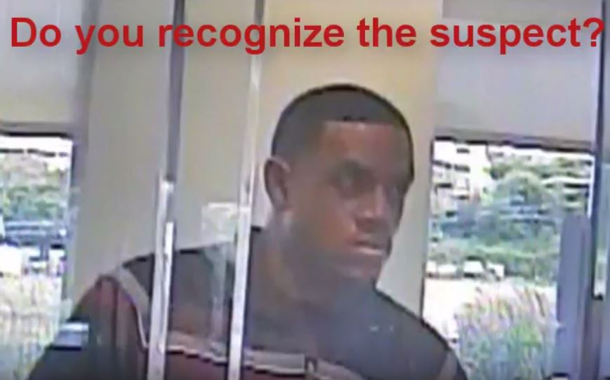 Suspect in Capital One Bank robbery on East Riverside Drive on June 19, 2017_492830