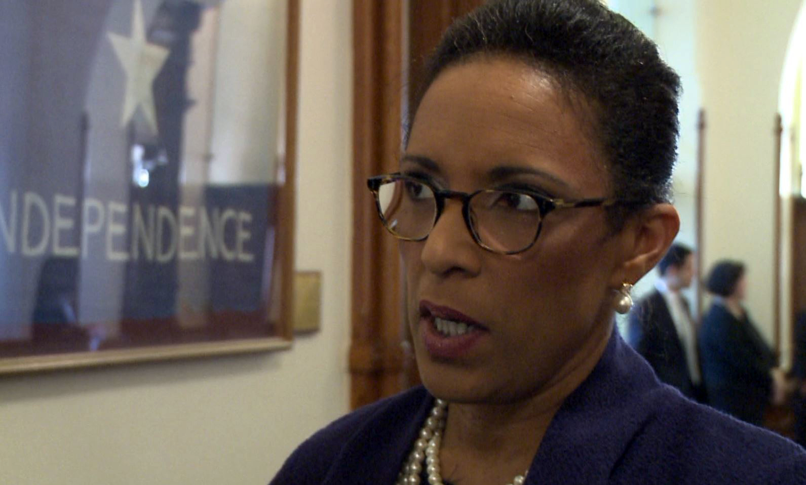 Dawnna Dukes discusses why she decided to rescind her resignation on Jan. 10, 2017. (KXAN Photo)