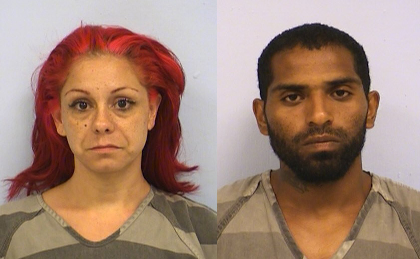 Amanda Florez and Devin Rodriguez were involved in a crash involving bicyclists on South Pleasant Valley on Saturday, June 10, 2017. (Austin Police Department)
