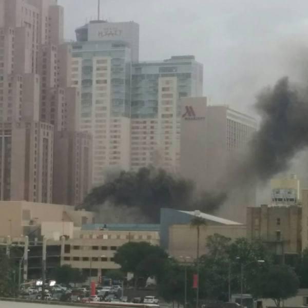 San Antonio Mall fire_496753