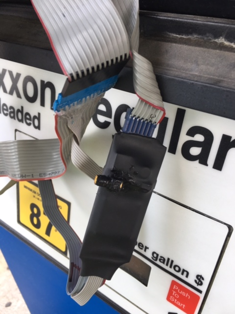 A credit card skimmer found at the Speedy Stop at 1320 E. Oltorf in Austin_485945