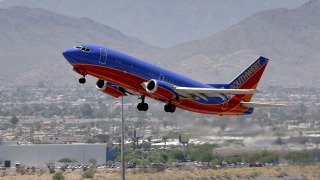 Southwest Airlines plane_387962