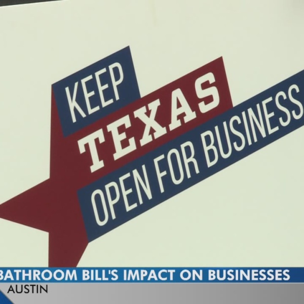 Bathroom bill's impact on Texas businesses