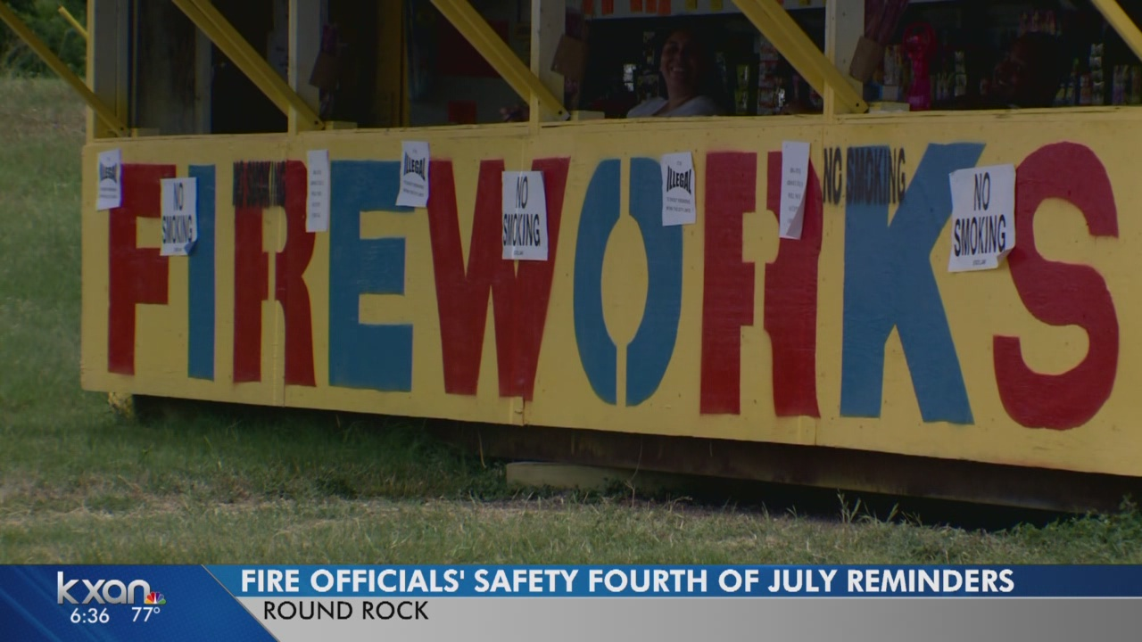 Practice fireworks safety this Fourth of July