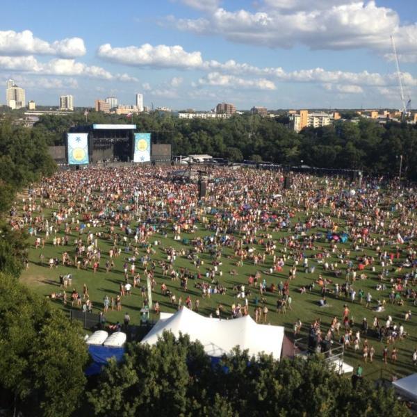 Zilker Park during ACL Festival_36921