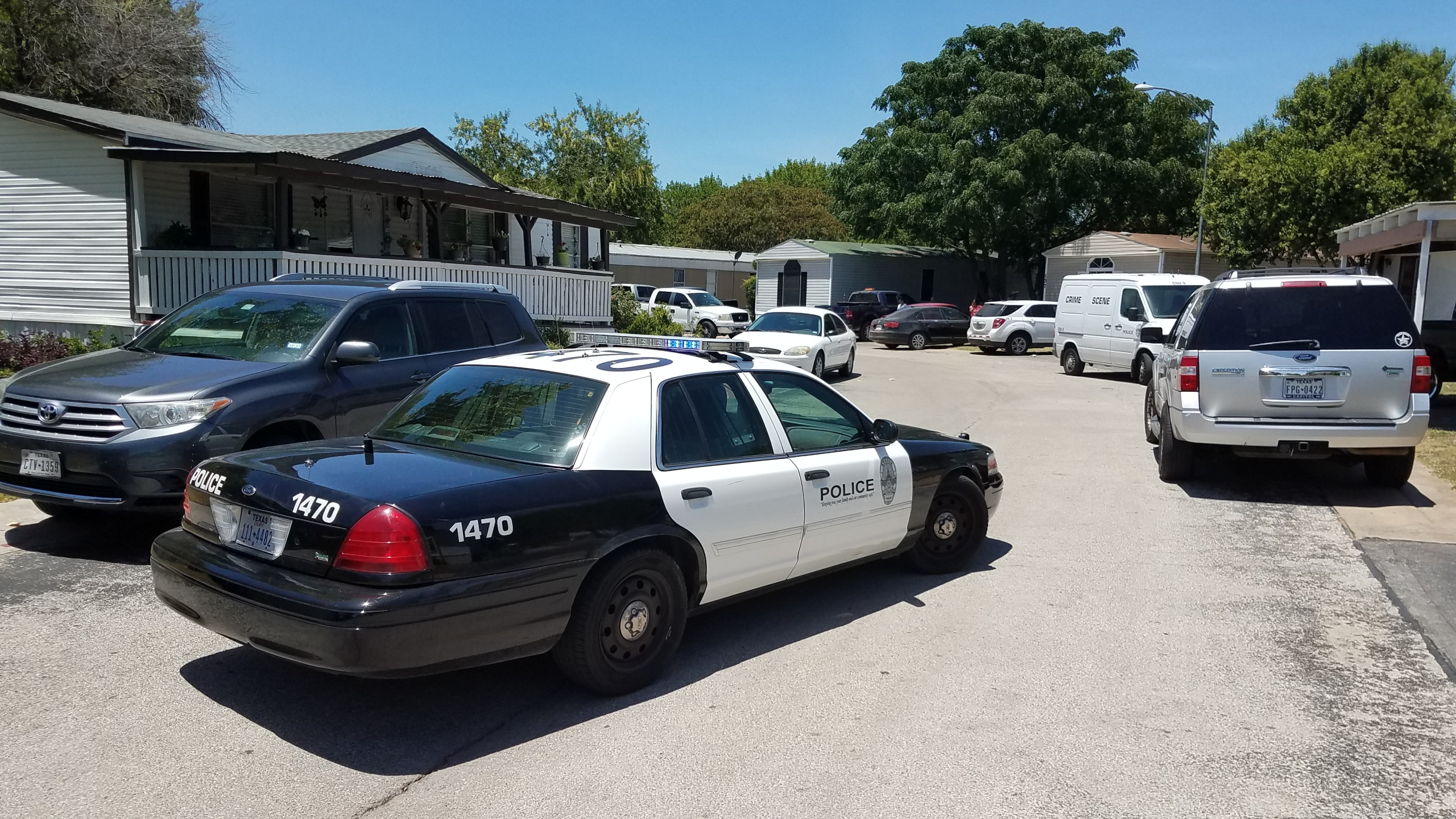 Police investigating suspicious death of an infant in the North Bluff Estates community._516022