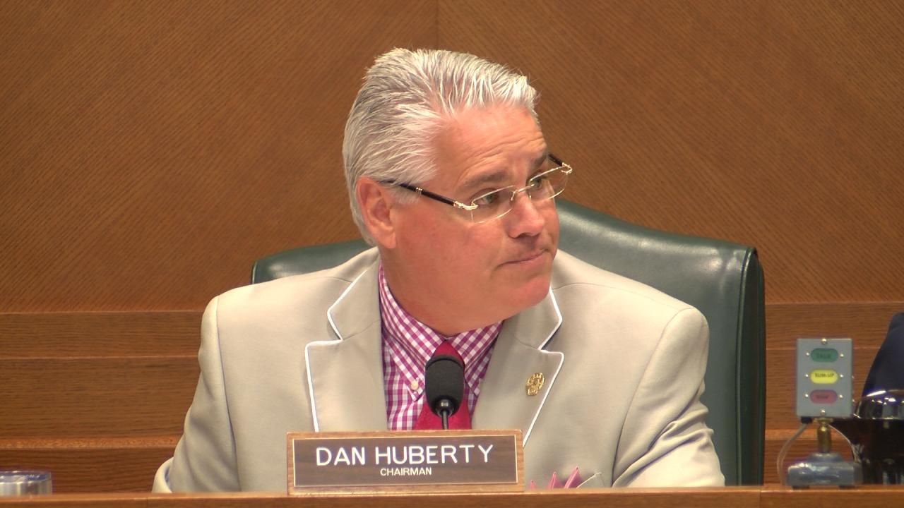 Rep. Dan Huberty, R- Houston, chairs the House Committee on Public Education in a meeting on July 31, 2017. (Nexstar Photo/Wes Rapaport)