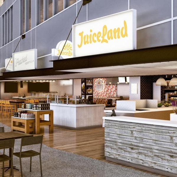 Peached Tortilla, Juiceland concepts at Austin airport_512542