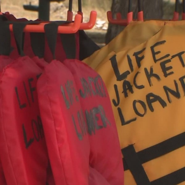 City of Lakeway loaning life jackets to swimmers to prevent drownings