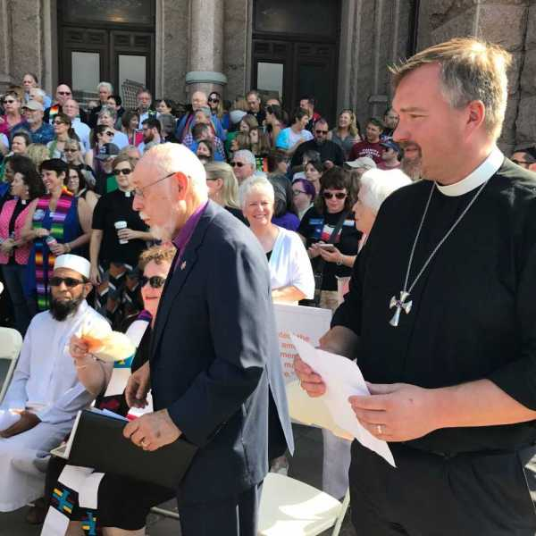 Faith leaders rally at the Texas State Capitol in opposition to _bathroom bill_ legislation_517537