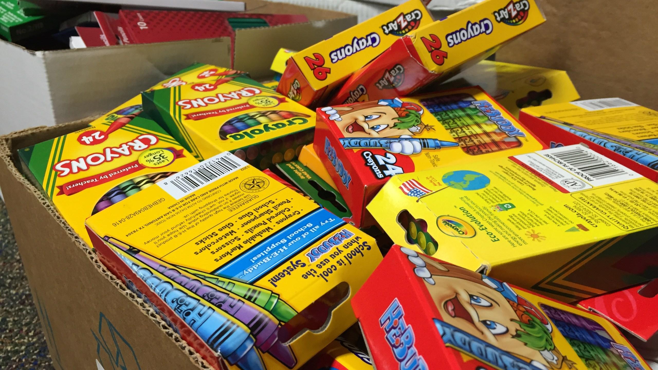 St. Mary's school donates supplies for Louisiana flood victims_338912