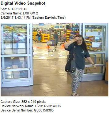 On Sunday, August 6, 2017, the male subject shoplifted items from Walmart, and pepper sprayed an 80-year-old female employee when he was confronted. The female is an accomplice who was with the male subject, and provided him the pepper spray...