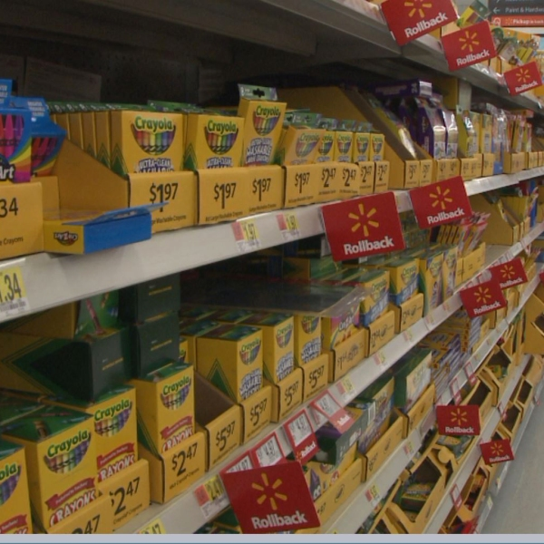School supplies on sale at Walmart in Austin - Back to School_523967