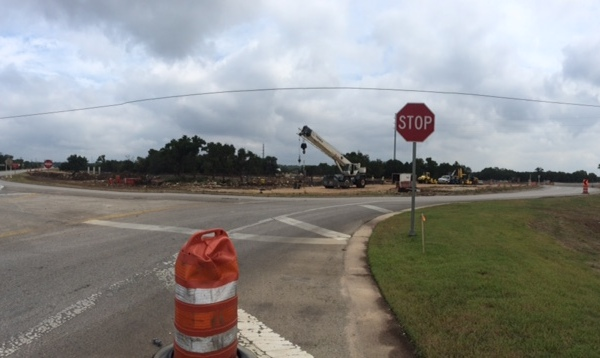 Construction underway on SH 45SW at Mopac South_522141