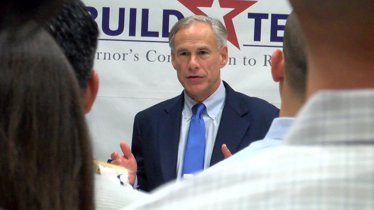 Gov. Greg Abbott briefing on Rebuild Texas efforts on Sept. 26, 2017_551820