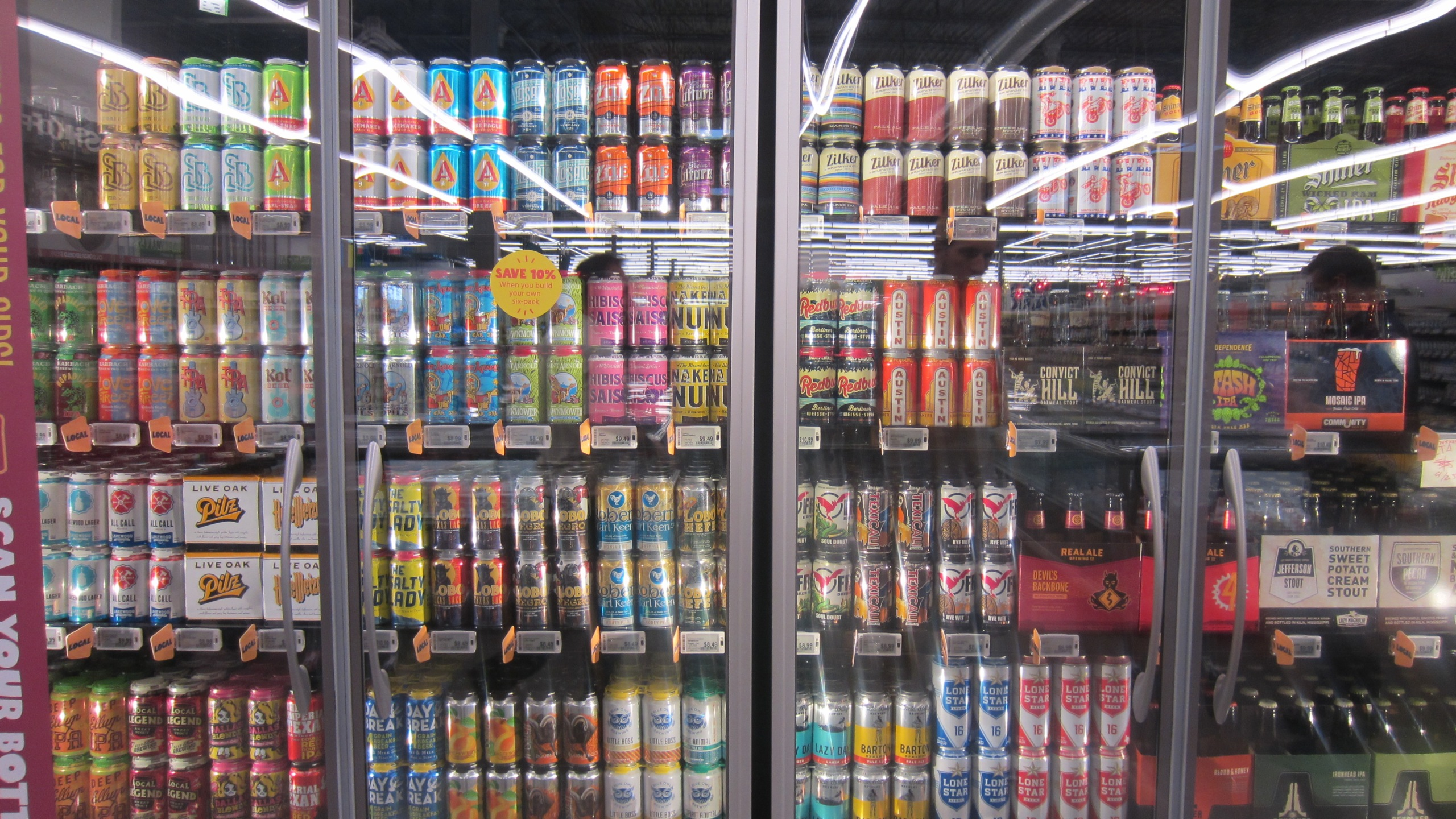 Beer at Whole Foods Market's 365 in Cedar Park (KXAN Photo_Calily Bien)_459598
