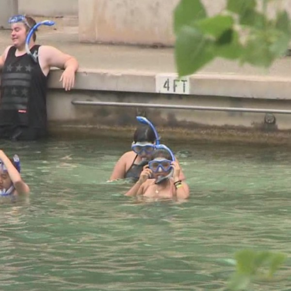 Students spend a day learning at Barton Springs Pool_551850