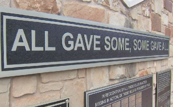 _All gave some, some gave all' veterans plaque_559991