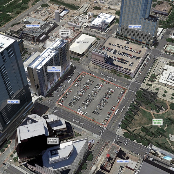 Parking lot for sale by Travis County_350126
