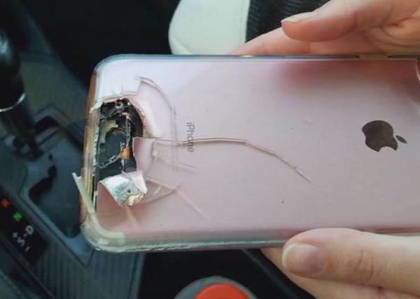 Las Vegas shooting survivor saved when bullet hit phone_555720