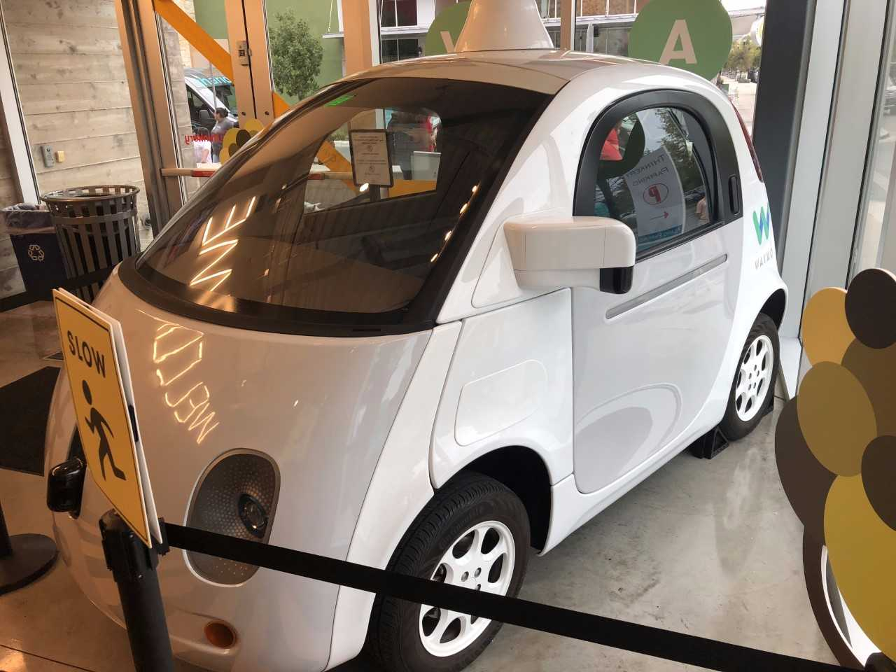 The Firefly self-driving car exhibit at The Thinkery_566282