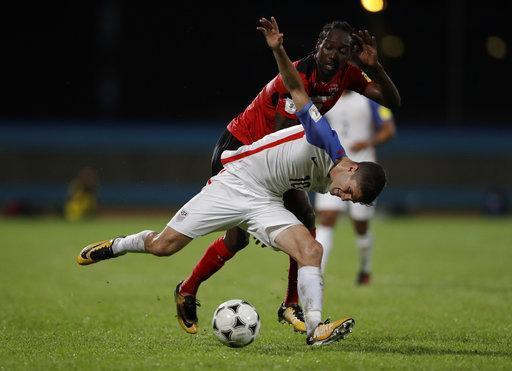 Trinidad and Tobago U.S. Wcup Soccer_560070