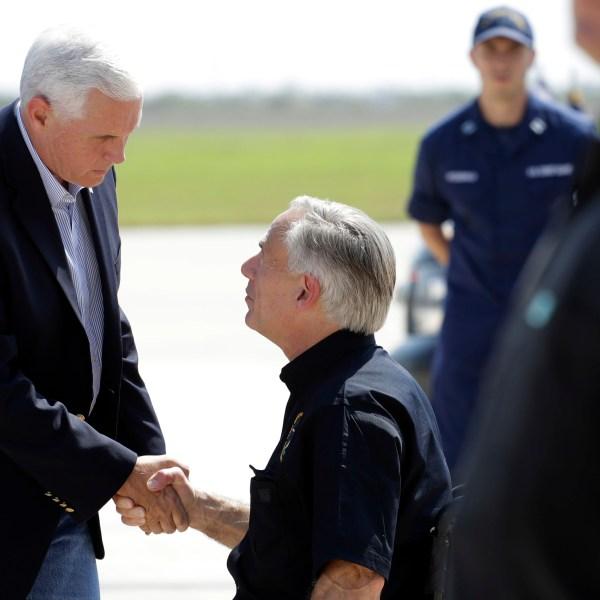 Mike Pence, Greg Abbott, Cecilia Abbott_536379